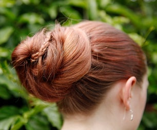How to Do a Ladder Braid Bun Hairstyle