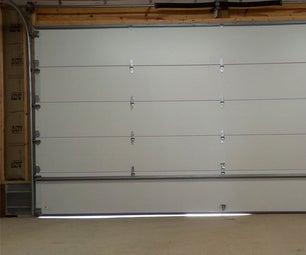 Replacing a Garage Door Weather Seal