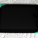 One hand tablet holder