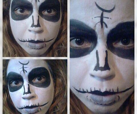 Heidi Hawthorne Face Paint (The Lords of Salem)