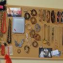 Corkboard Accessory Organizer
