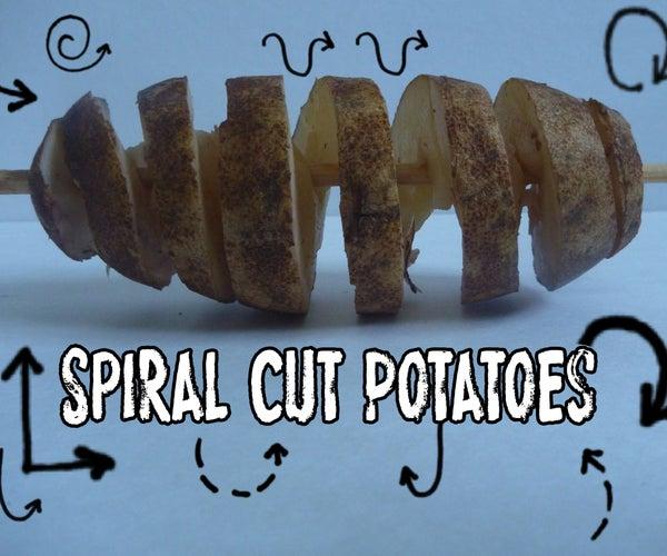 Spiral Cut Potatoes