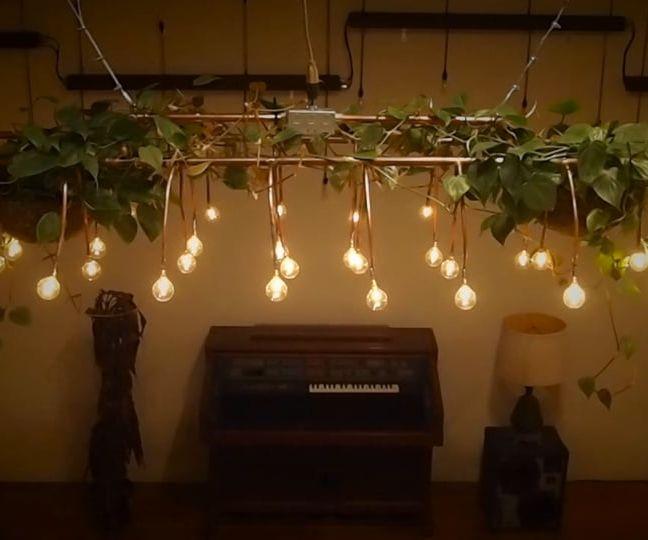 Light Bulb Displays + Stranger Things...