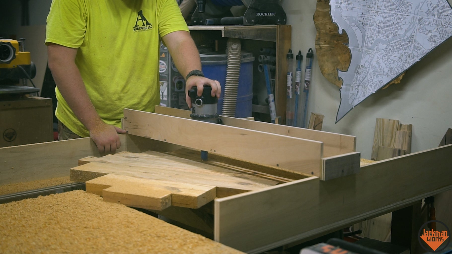 Flattening the Slab and Cutting It to Size
