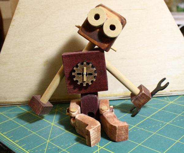 Wooden Rag Doll