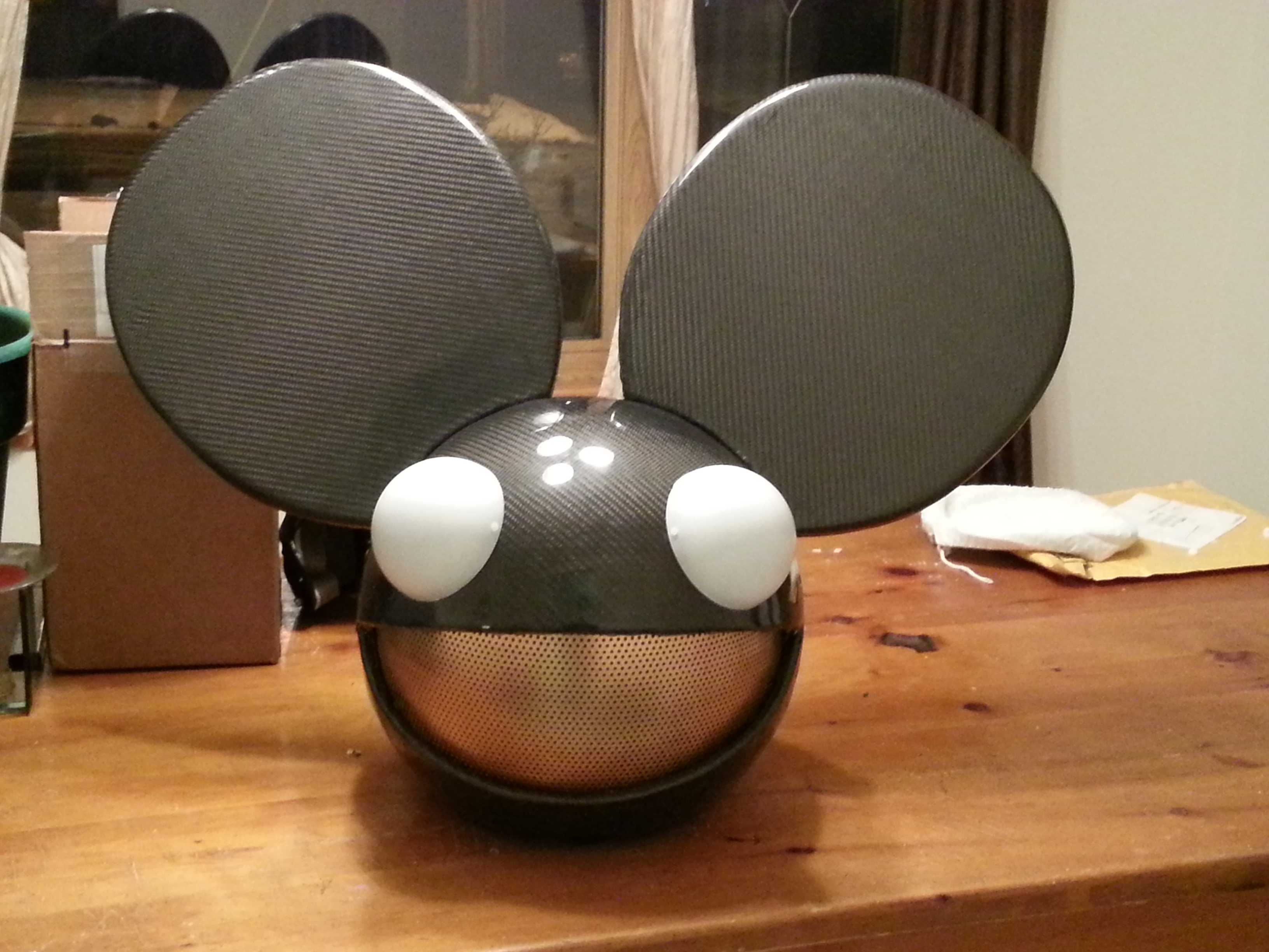 Carbon Fiber Deadmau5 Head - As close as it gets to the real deal