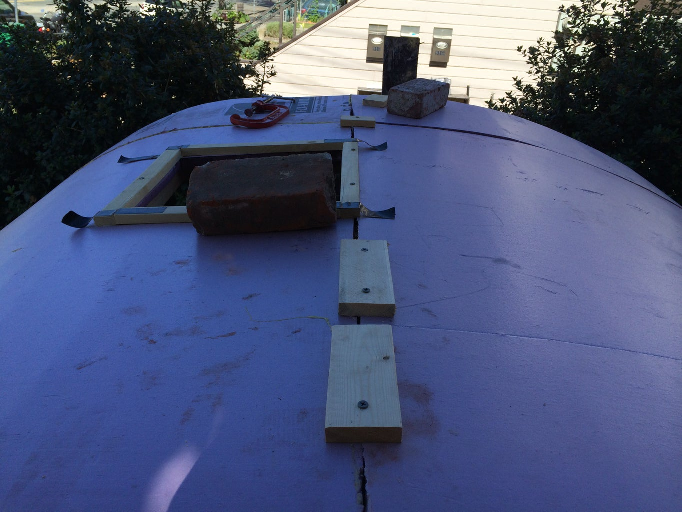 Finish Attaching Roof