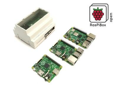DIN Rail Mount for Raspberry Pi 4