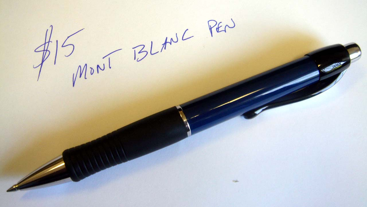 Save $200 in 2 minutes and have the worlds best writing pen