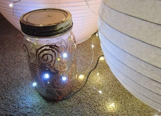 Diy Fairy Light Mason Jar W Chibitronics 6 Steps Instructables
