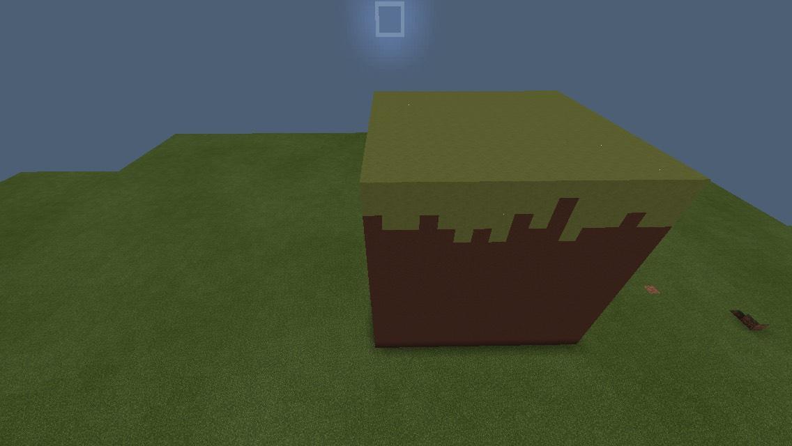 a BIG Grass Block