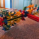 The Punisher- A Knex Rifle