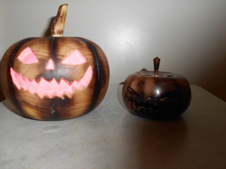 Step3: Pumpkin Face (Лицо Тыквы)