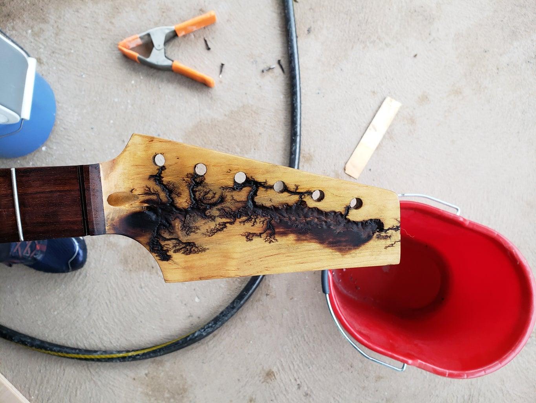 Burning the Wood