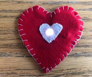 How to Make an Easy E-heart