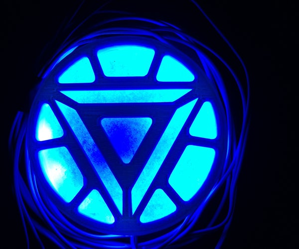 Iron Man Arc Reactor With Working Lights