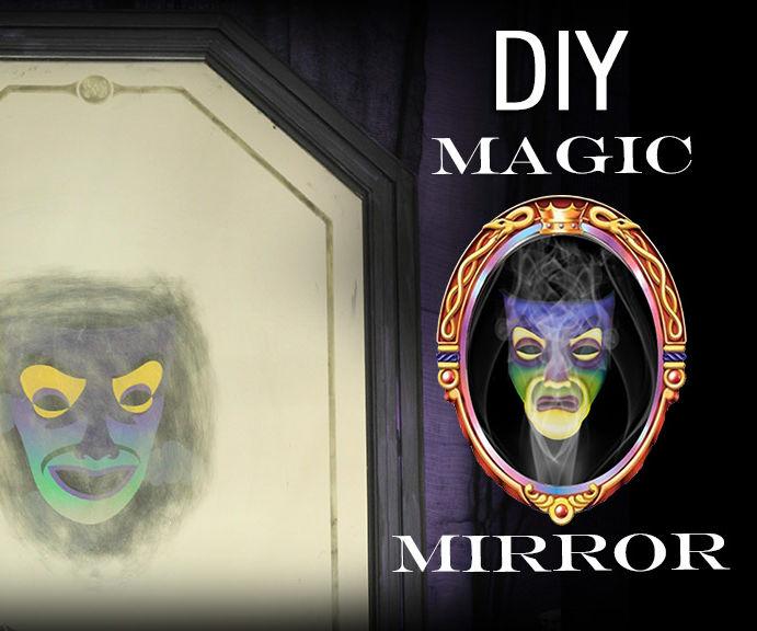 DIY Magic Mirror Disney Villains Craft
