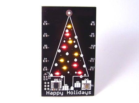 Hackable Christmas Card & Ornament