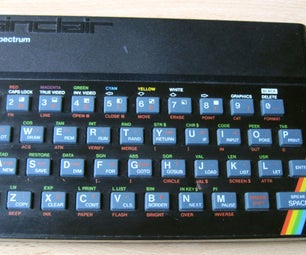 Convert a ZX82 Spectrum Keyboard Into an Expandable USB Keyboard With Arduino