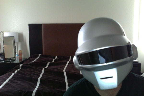 Daft Punk Helmet Homemade
