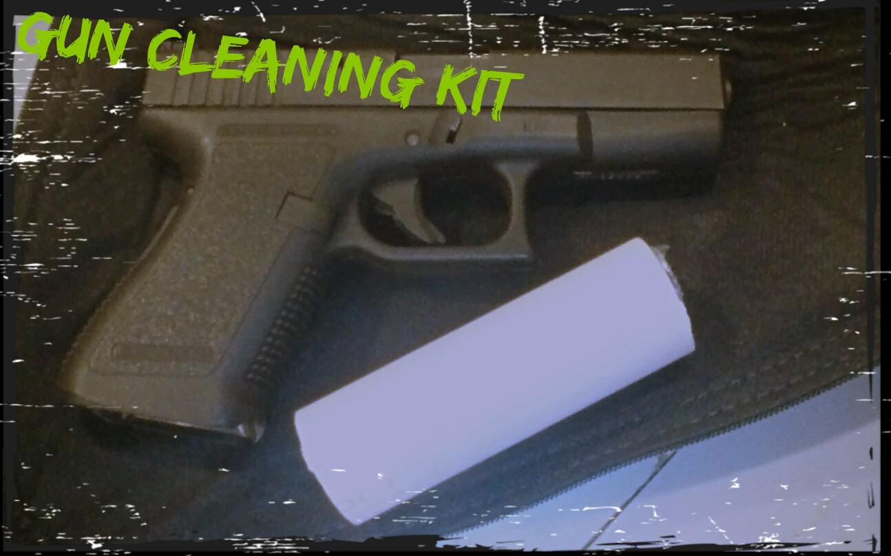 portable gun cleaning kit