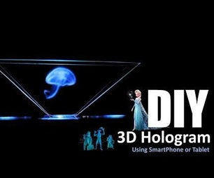 DIY - Hologram Pyramid and Pepper's Ghost