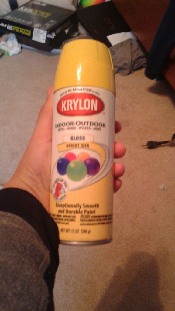 Paint the First Layer or Color