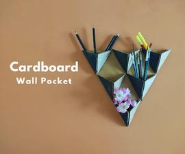 Cardboard Wall Pocket Organizer