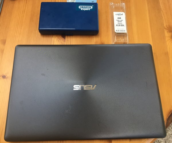 Upgrading Asus X550C and CA Series Laptop RAM
