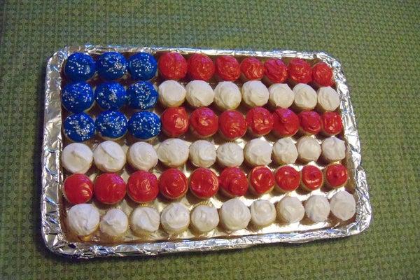 Cupcake Spangled Banner