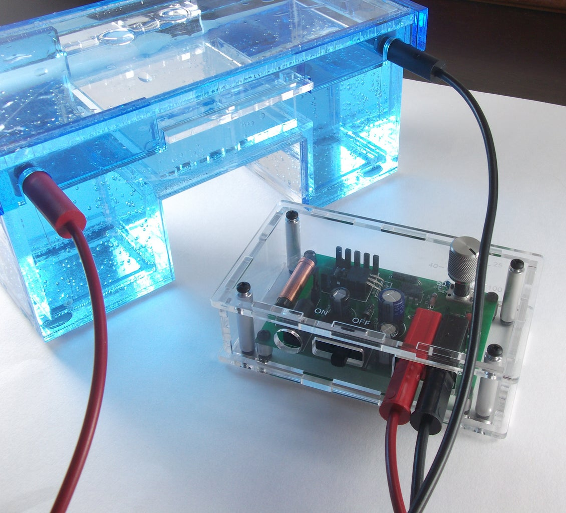 Electrophoresis With the Power Supply