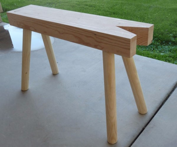 Build a Sawbench From a Beam and Dowels