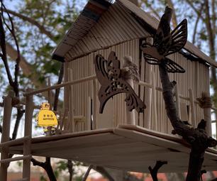 竹树屋——一个建筑模型