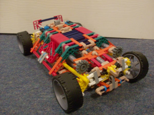 Knex Gyro System Car Updated.