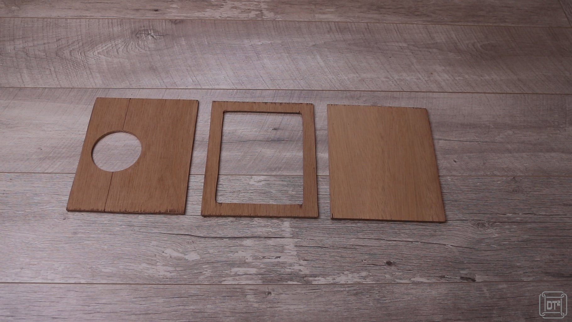 Cut and Paint Materials - Wood Panels