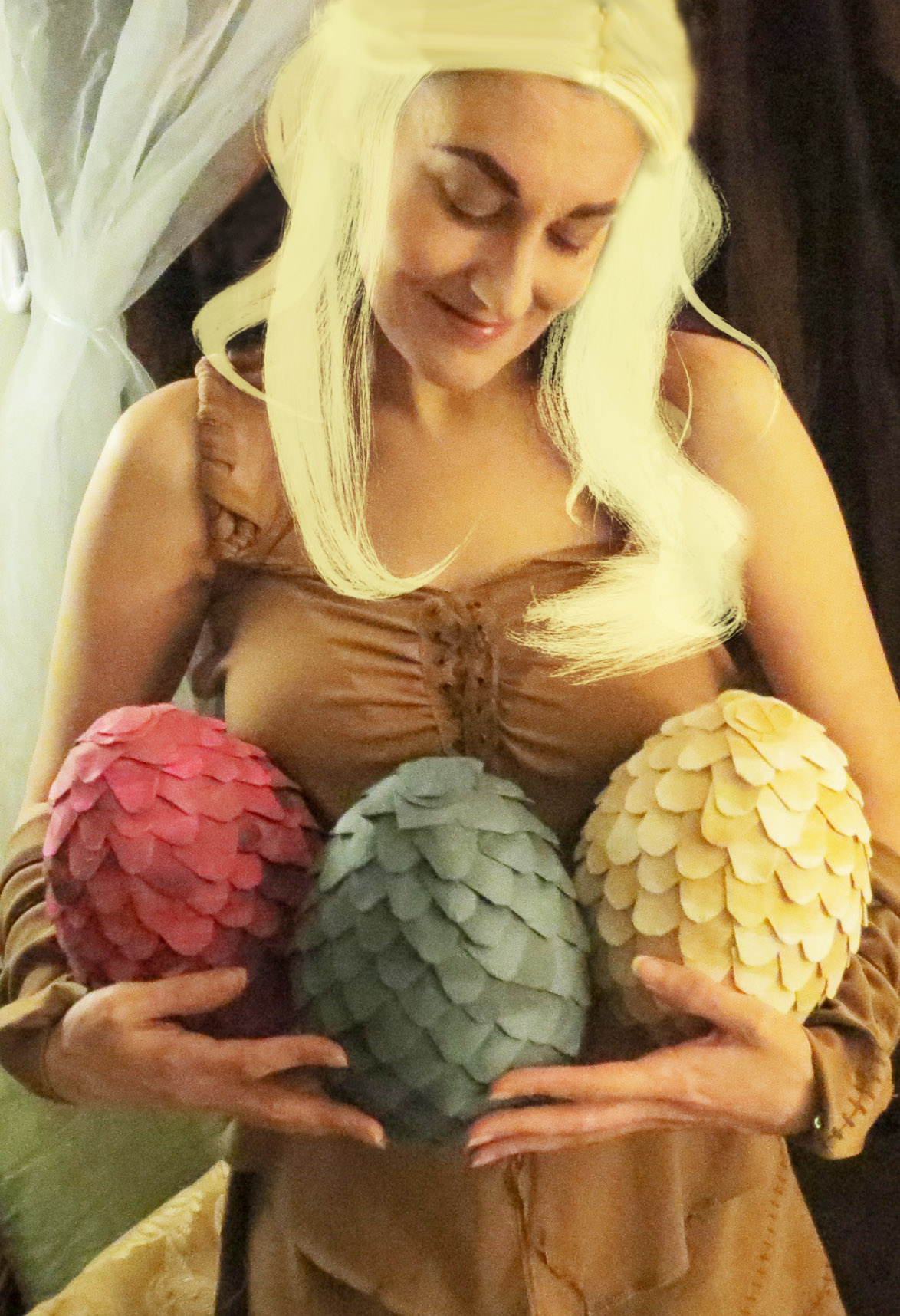 Daenerys' Dragon Eggs