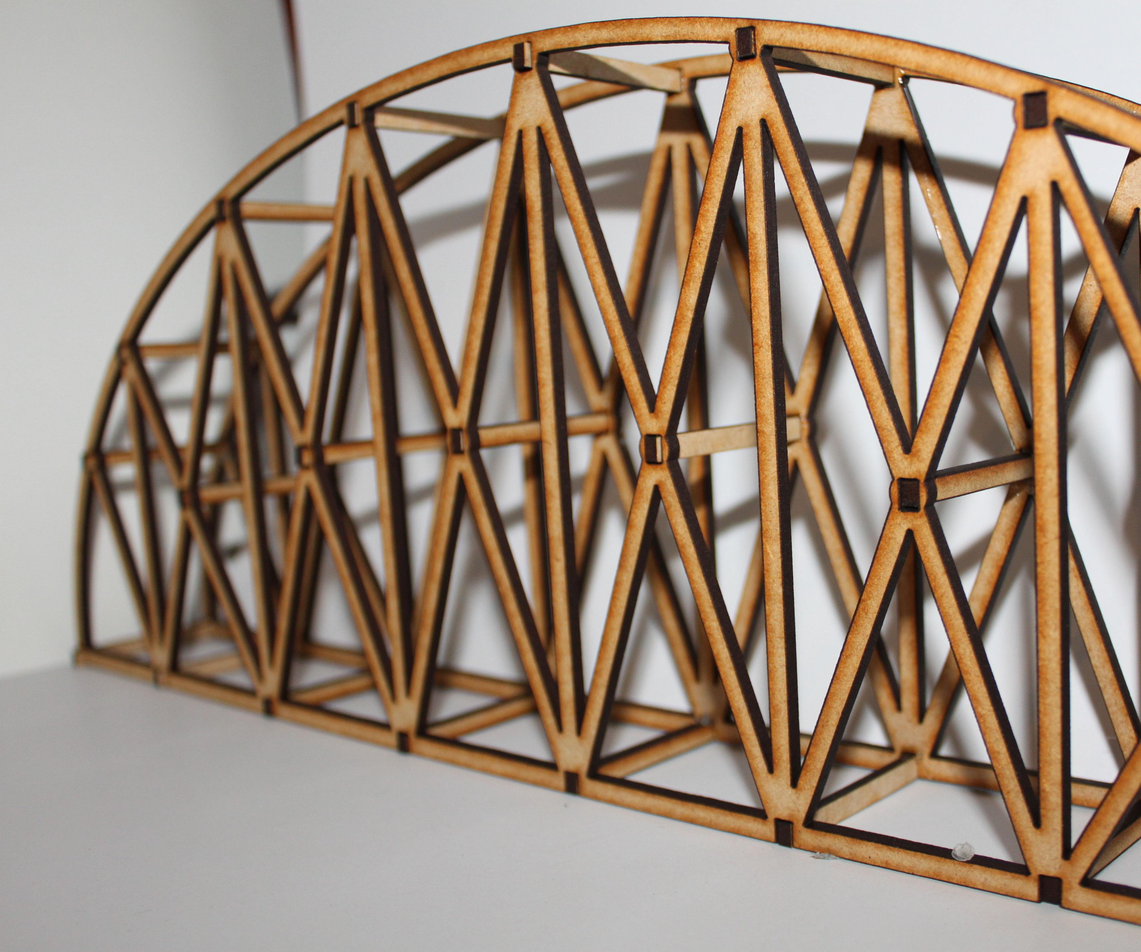 Laser Cut Bridge Stem Challenge 3 Steps Instructables