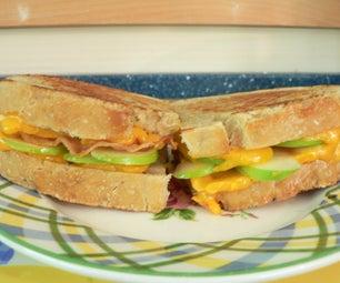 Apple, Cheddar & Bacon Sourdough Sandwich