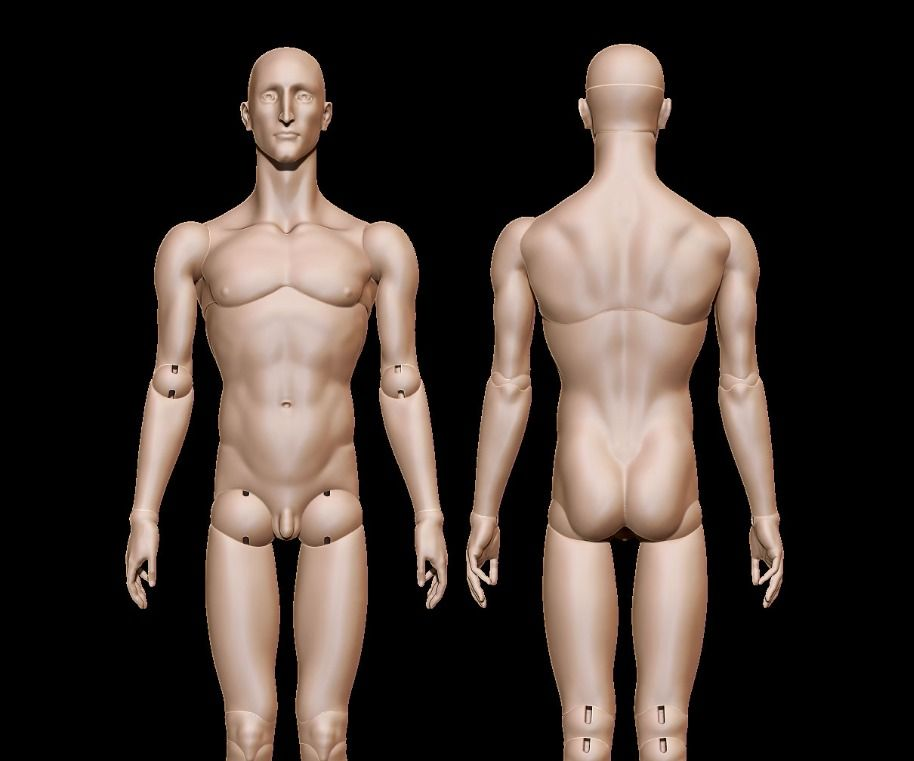 Ball Jointed Doll - Lazarus
