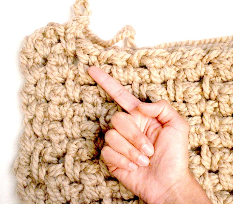 How to Finger Crochet