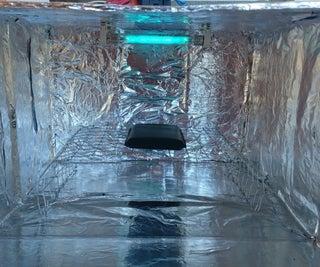 Caixa De Esterilização UV-C COVID-19