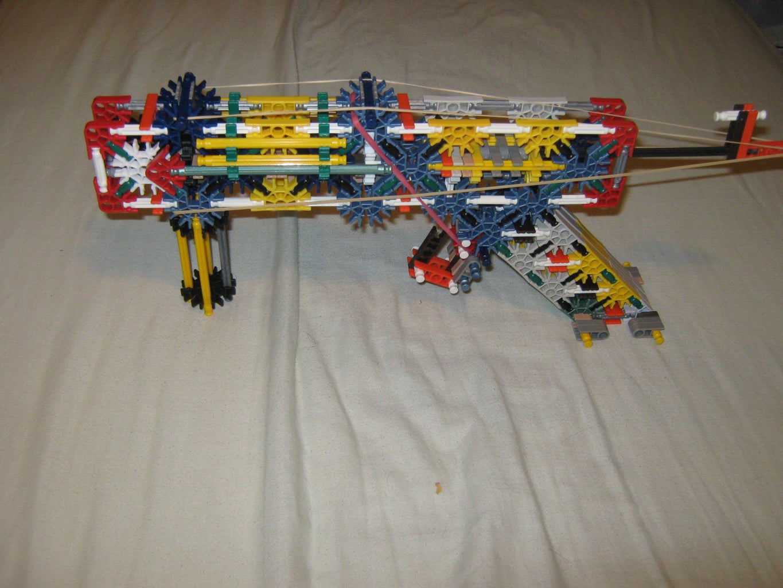 My Mods of the Jamalam's 'The Storm 22 K'nex Pistol'