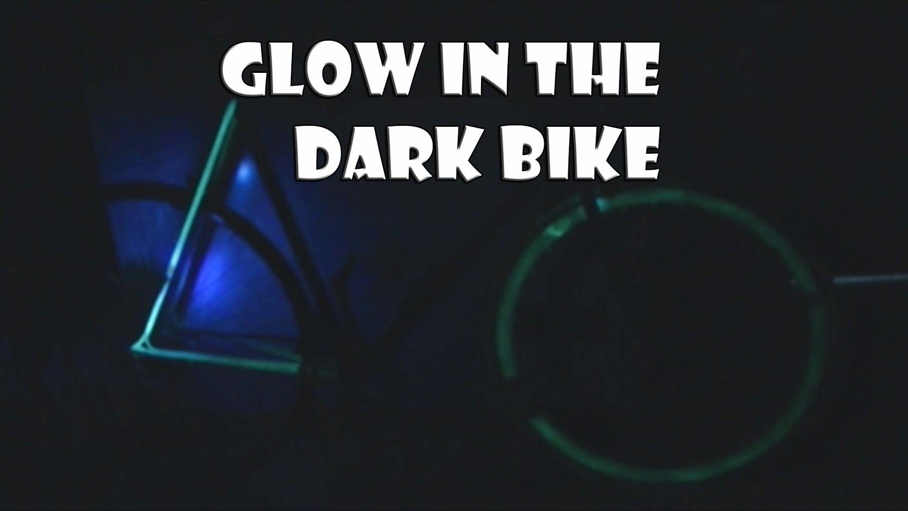 GLOW IN THE DARK BIKE-Bici Que Brilla En La Oscuridad