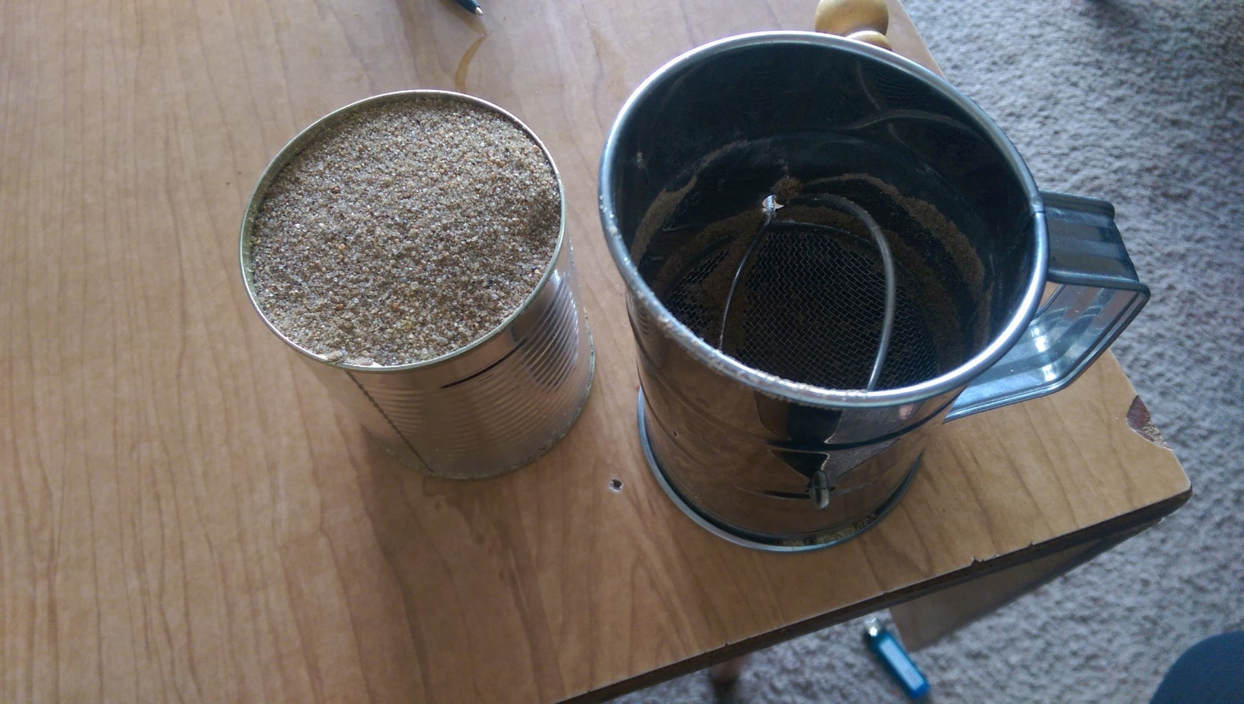 Acquiring Sand for Tempering