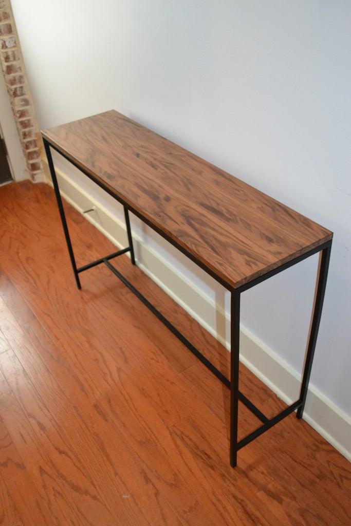 Walnut Hallway Table Topper