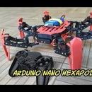 Afordable PS2 Controlled Arduino Nano 18 DOF Hexapod