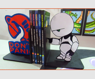 Coll Bookends the Hitchhiker's Guide to the Galaxy