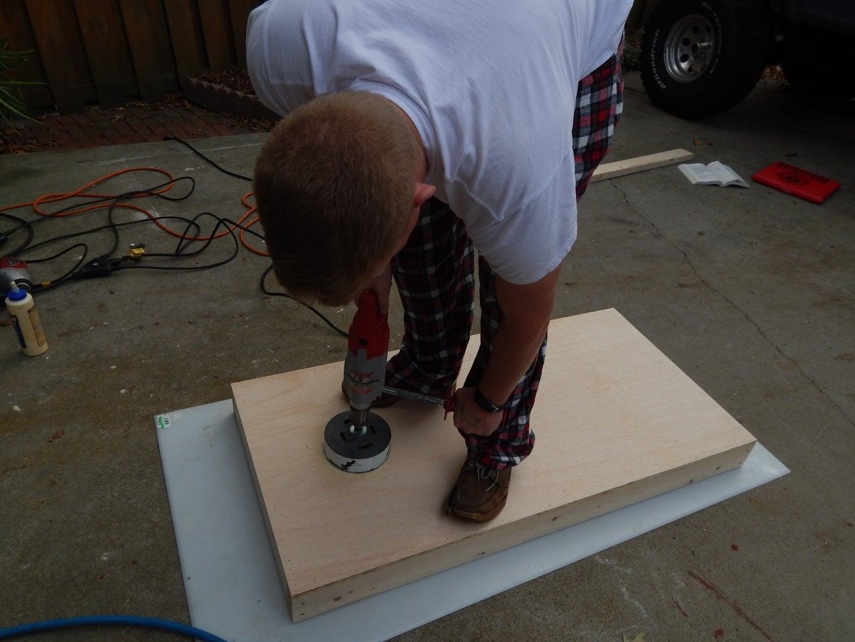 Cutting the Hole