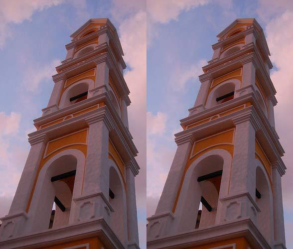 Optical Illusion - Falling Buildings