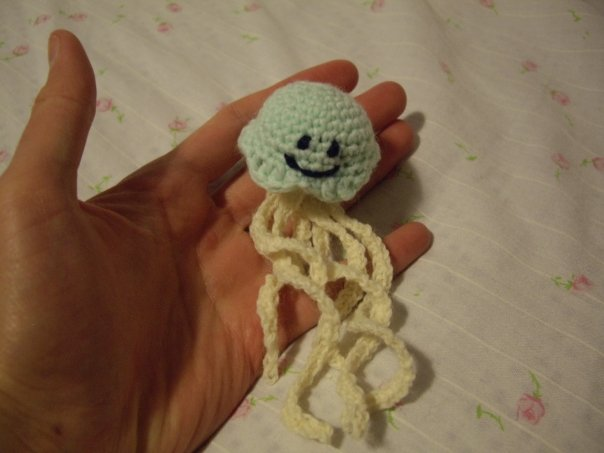 Crochet Jellyfish (amigurumi) :D